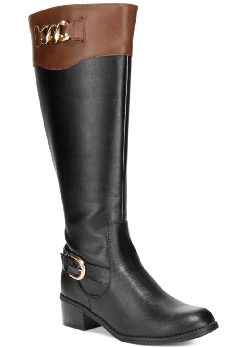 Karen Scott Darlaa Tall Riding Boots Women's Shoes