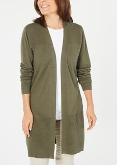 Karen Scott Duster Cardigan, Created for Macy's