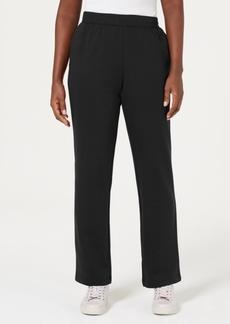Karen Scott Fleece Pull-On Pants, Created for Macy's