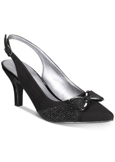 Karen Scott Gladiss Slingback Pumps, Created for Macy's Women's Shoes