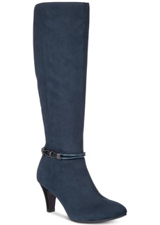 Karen Scott Hollee Wide-Calf Dress Boots, Created for Macy's Women's Shoes