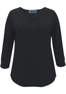 Karen Scott Keyhole-Front T-Shirt, Created for Macy's