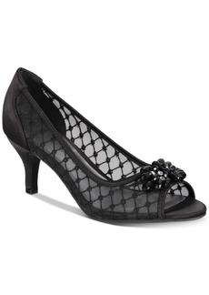 Karen Scott Maralyn Peep-Toe Evening Pumps, Created for Macy's Women's Shoes