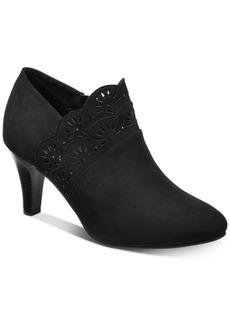 Karen Scott Marana Perforated Booties, Created for Macy's Women's Shoes