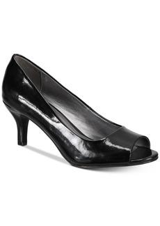 Karen Scott Mory Peep-Toe Pumps, Created for Macy's Women's Shoes