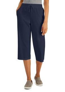 Karen Scott Knit Capri Pants, Created for Macy's