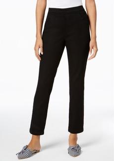 Karen Scott Pull-On Straight-Leg Jeans, Created for Macy's