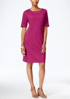 Karen Scott Petite T-Shirt Dress, Only at Macy's