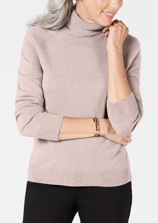 Karen Scott Petite Turtleneck Sweater, Created for Macy's