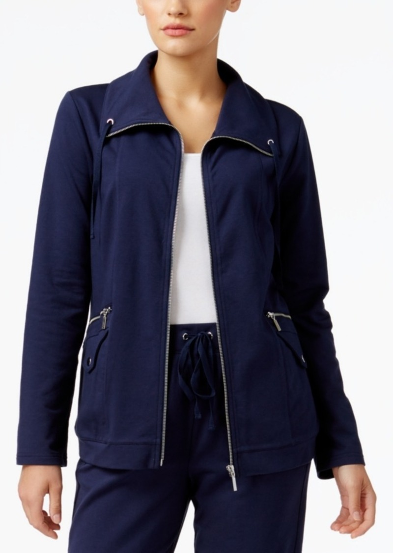 Karen Scott Petite Utility Jacket, Only at Macy's