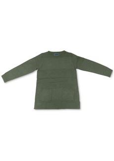 Karen Scott Plus Size Front-Pocket Sweater, Created for Macy's