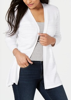 Karen Scott Pointelle-Knit Cardigan, Created for Macy's