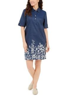 Karen Scott Printed Shirtdress, Created for Macy's