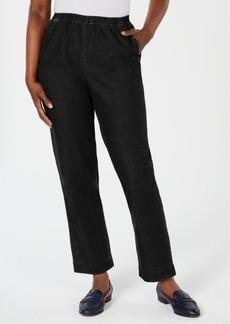 Karen Scott Pull-On Denim Pants, Created for Macy's