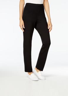 Karen Scott Sport Pull-On Comfort Pants, Created for Macy's