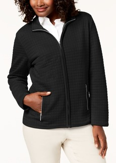 Karen Scott Petite Quilted Jacket, Created for Macy's