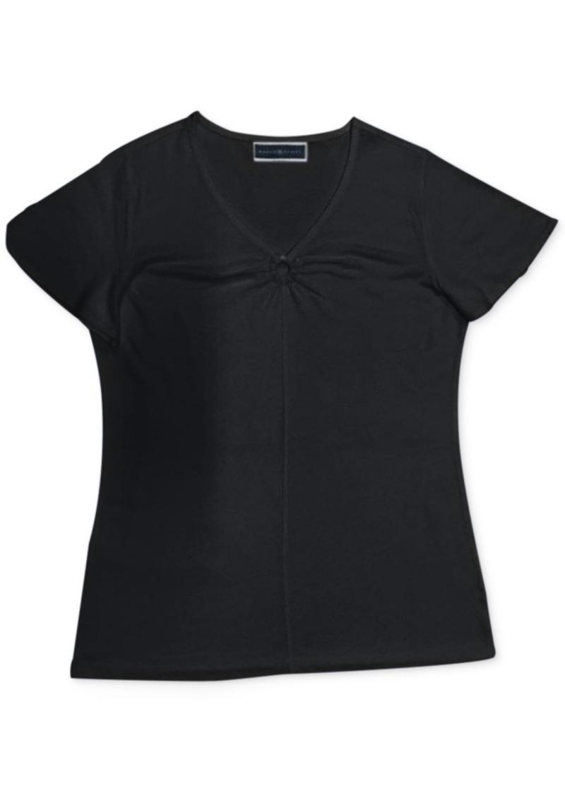 Karen Scott Ring-Detail Top, Created for Macy's