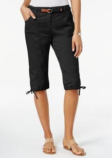 Karen Scott Skimmer Shorts, Only at Macy's