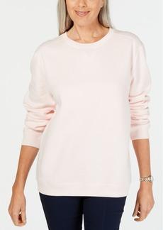 Karen Scott Fleece Sweatshirt, Created for Macy's