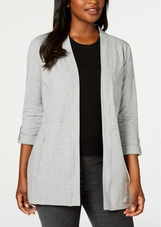 Karen Scott Zip-Pocket Cardigan, Created for Macy's