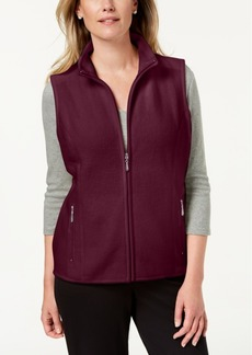 Karen Scott Zip-Up Vest, Created for Macy's