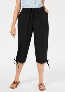 Karen Scott Dahlia Solid Capri Pants, Created for Macy's