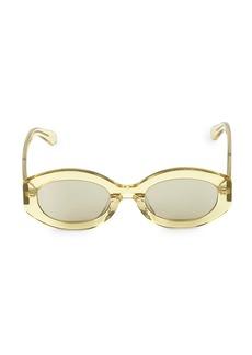 Karen Walker 49MM Bishop Oval Sunglasses