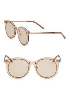 Karen Walker 51MM Mrs Persimmon Round Sunglasses