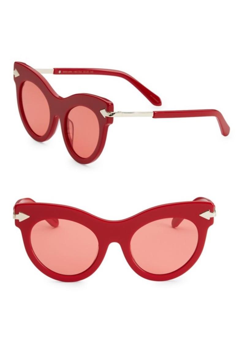 f759516dc73 Karen Walker 52MM Miss Lark Cat-Eye Sunglasses