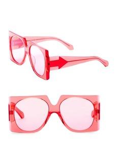 Karen Walker 56MM Return to Sender Square Sunglasses