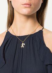 Karen Walker 9kt gold Runaway Girl pendant necklace