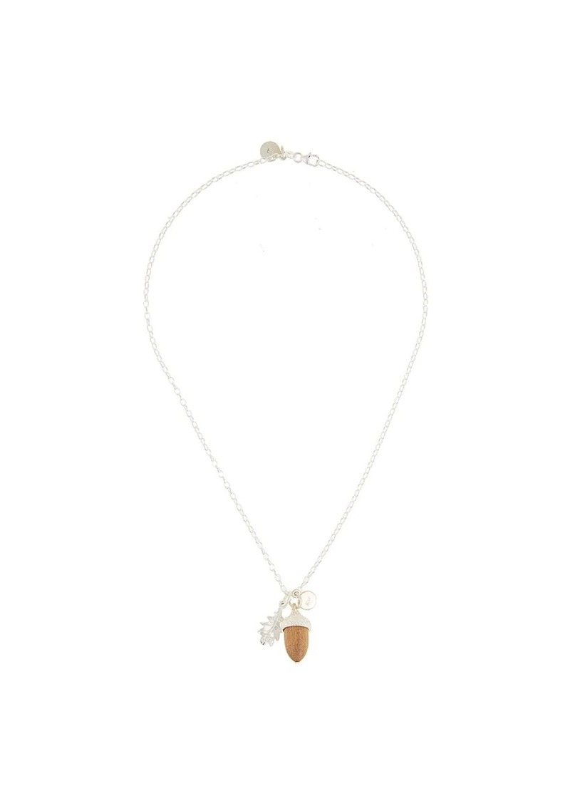 Karen Walker acorn pendant necklace