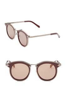 Karen Walker Bounty 47MM Round Sunglasses