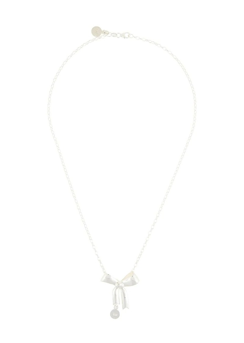 Karen Walker bow pendant necklace