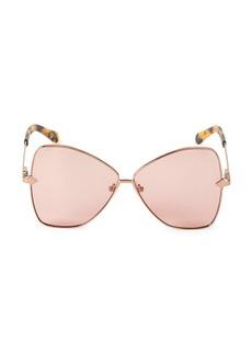 Karen Walker Chess Club Queen 60MM Butterfly Sunglasses