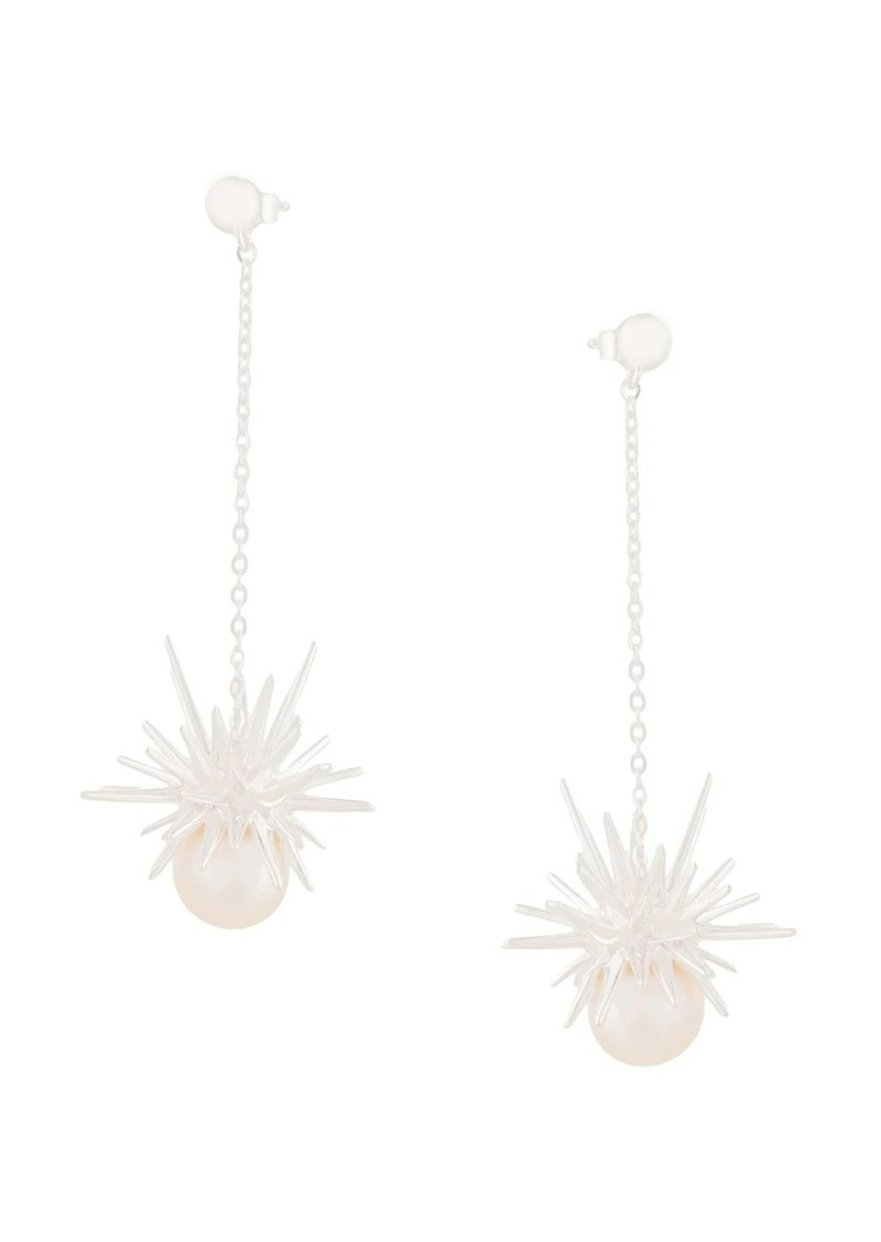 Karen Walker Forbidden drop earrings