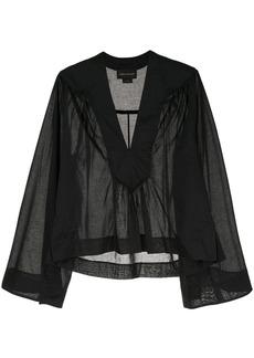 Karen Walker gathered blouse