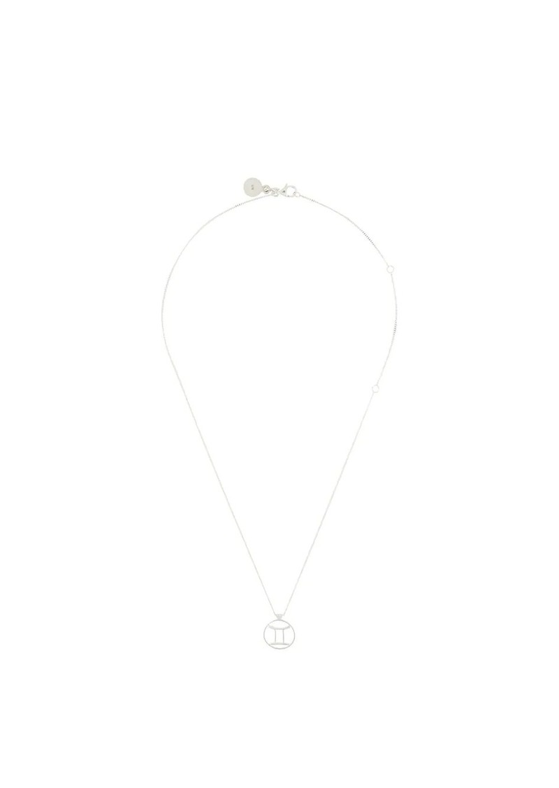 Karen Walker Gemini necklace