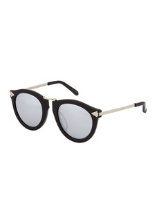 Karen Walker Harvest Superstars Acetate/Metal Round Sunglasses