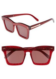 Karen Walker Banks 51mm Rectangular Sunglasses