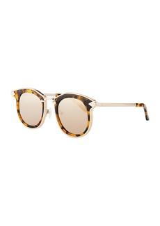 Karen Walker Bounty Round Mirrored Sunglasses