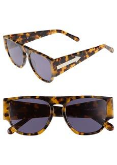 Karen Walker x Monumental Buzz 54mm Polarized Sunglasses