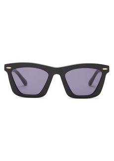 Karen Walker Eyewear Alexandria square acetate sunglasses