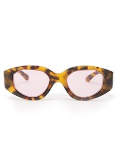 Karen Walker Eyewear Castaway Crazy Tort tortoiseshell sunglasses