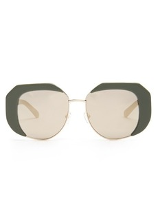Karen Walker Eyewear Domingo butterfly-frame sunglasses