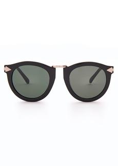 Karen Walker Eyewear Harvest round acetate sunglasses