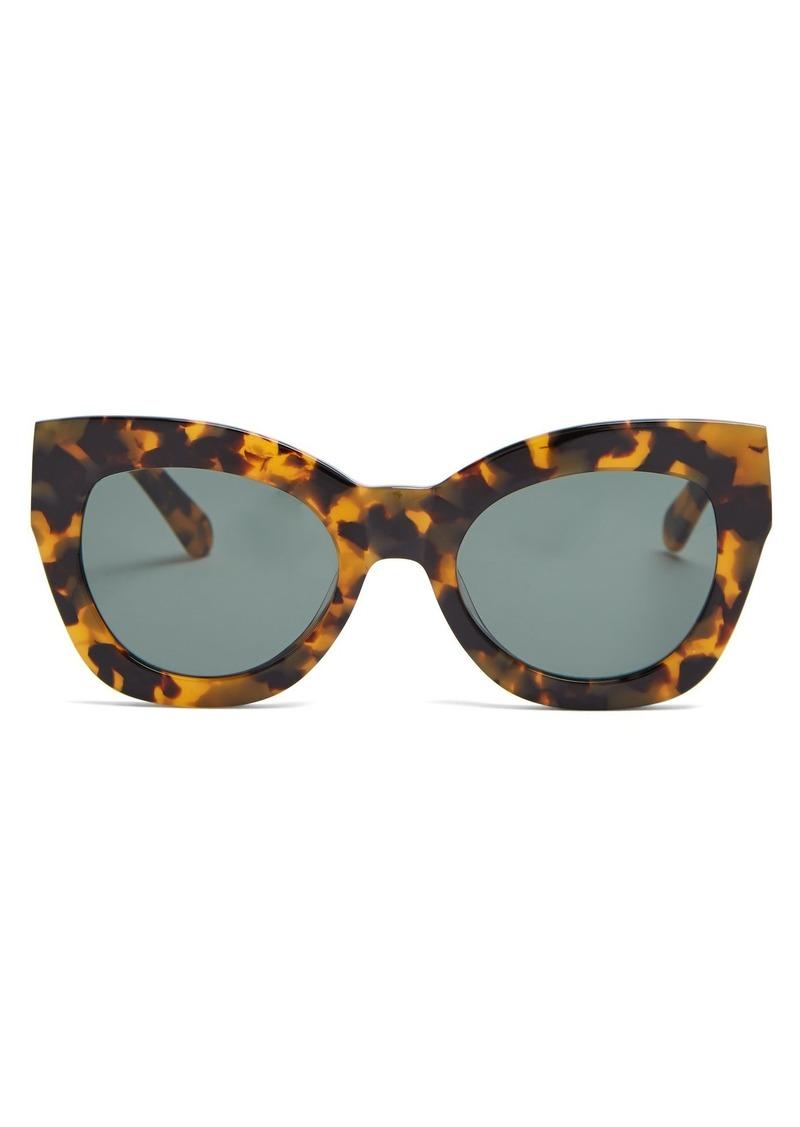 60cd779c11 Karen Walker Karen Walker Eyewear Northern Lights cat-eye acetate ...