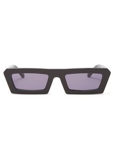 Karen Walker Eyewear Shipwrecks rectangular-frame acetate sunglasses