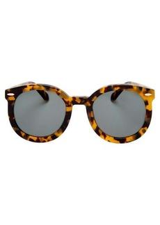 Karen Walker Eyewear Super Duper Strength round-frame sunglasses