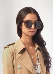 57a32afa5ab ... Karen Walker Eyewear Super Duper Strength round-frame sunglasses ...